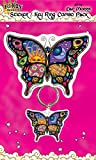 Dan Morris - Night and Day Stunning CELESTIAL MOON BUTTERFLY - Sticker DECAL