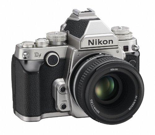Nikon デジタル一眼レフカメラ Df 50mm f/1.8G Special Editionキット シルバーDFLKSL