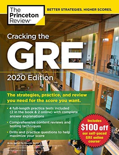 Download CRACKING GRE 2020 (GRADUATE TEST PREP) 0525568050