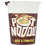 Pot Noodle Beef & Tomato Flavour (90g) ポットヌードル牛肉とトマトの味( 90グラム)