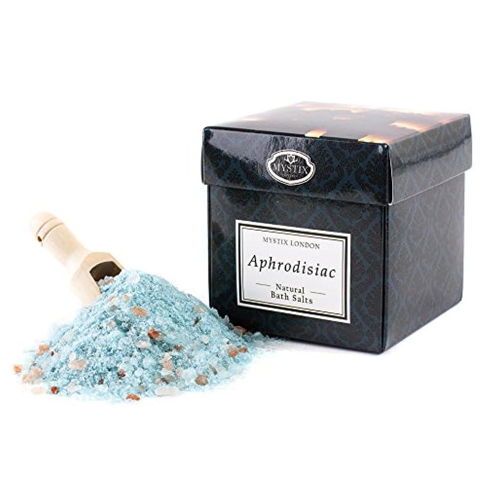 良さキャンプうめき声Mystix London   Aphrodisiac Bath Salt - 350g