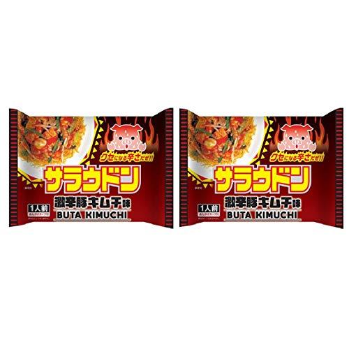 ヒガシフーズ サラウドン 激辛豚キムチ味66.1g(1人前スープ付)×2袋