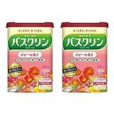 【まとめ買い】【医薬部外品】バスクリンポピーの香り600g入浴剤(約30回分)×2個