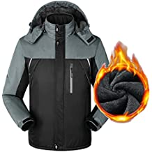 Yiwa Men Winter Waterproof Softshell Jacket Outdoor Sport Warm Inner Fleece Coat Hiking Camping Skiing Unisex Clothes