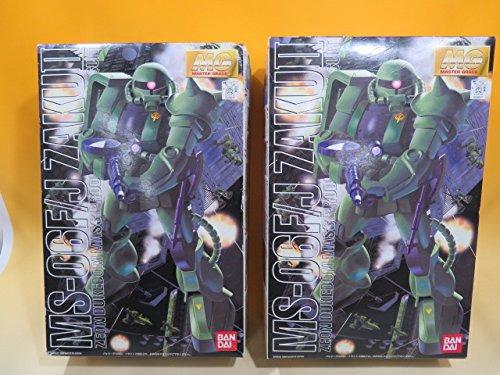 【未組立品】バンダイ MG 1/100 MS-06 F/J ザクII マスターグレード 正規品ZAKU プラモデル 2体セット A7