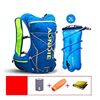LIXADA ハイドレーションバッグ サイクリング ランニングバッグ バックパック 超軽量 大容量 防水 アウトドアスポーツ 登山ウォーター ユニセックス ハイドレーションパック付き