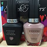 Cuccio MatchMakers Veneer & Lacquer - Nude-A-Tude - 0.43oz / 13ml Each