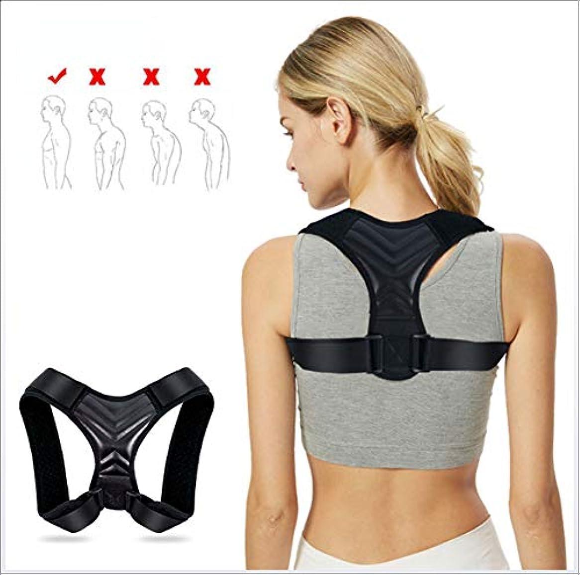 動新鮮な知人姿勢ブレース、胸部、肩の背中の補正反ハンプバック調整可能な補正は、男の子と女の子の姿勢を改善するのに役立ちます,L