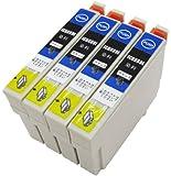 EPSON[エプソン]純正互換インク「ICBK69L」4本セット箱入(大容量) ICチップ付き