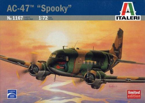 ダグラス AC-47 スプーキー 39167 (タミヤ イタレリ 1/72 飛行機シリーズ 1167)