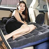 背もたれのシートのためのインフレータブルベッドカーマットレスエアーバックシートバックシートクッションキャンプトラベルアウトドアレスト130 * 86 * 40センチメートル ( 色 : ブラック )