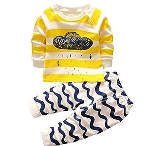 LZROL 子供パジャマ ルームウェア 綿100% キッズ 女の子 男の子 上下セット アニマル柄 長袖 寝巻き 寝間着 可愛い