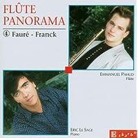 Faure/Franck;Sonatas Flute