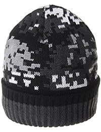 WITHMOONSニットビーニー帽カモフラージュ フリース ライニング ビーニーハット ミリタリー スラウチースカル キャップ スキーDW5517