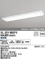 オーデリック LEDベースライト 《レッド・チューブ》 40形 4550lm 直付型 下面開放型(ルーバー) 1灯用 昼白色タイプ 5000K XL251092P1