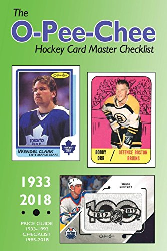Download The O-Pee-Chee Hockey Card Master Checklist 1389585387