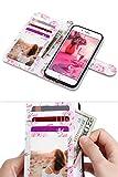 ULAK iPhone8 ケース 手帳型, iPhone7 ケース, 高級PU レザー カード収納 無段階 スタンド機能 滑り防止 財布型 iPhone 7 / iPhone 8 カバー スマホ 4.7インチ, ローズゴールド