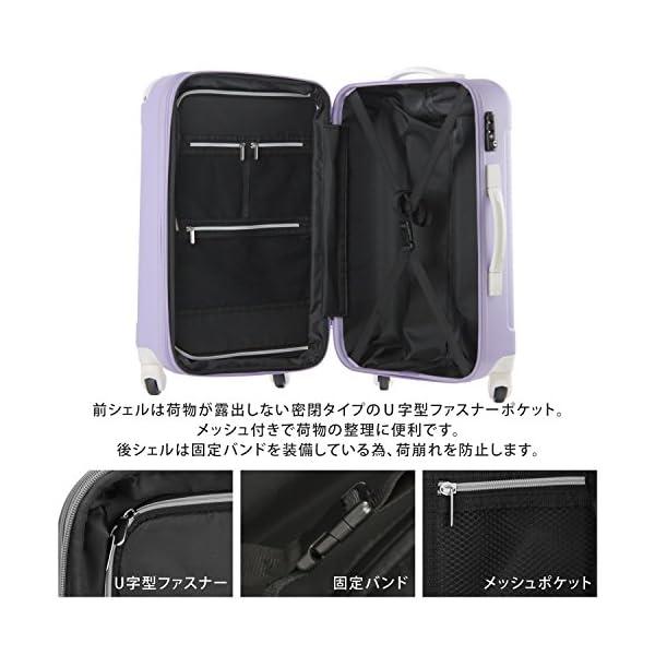 スーツケース キャリーケース キャリーバッグ ...の紹介画像3