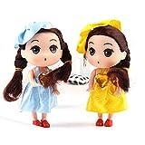 12cm 女の子 ミニ人形 ペンダント チャーム キーリング おもちゃ アクセサリー 贈り物 全5タイプ - #2 ノーブランド品 【ノーブランド 品】