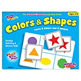 トレンド 英単語 カードゲーム マッチミーゲーム 色と形 Trend Match Me Games Colors & Shapes T-58103