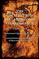 The United States Declaration of Independence Original and Modernized Capitalization Versions