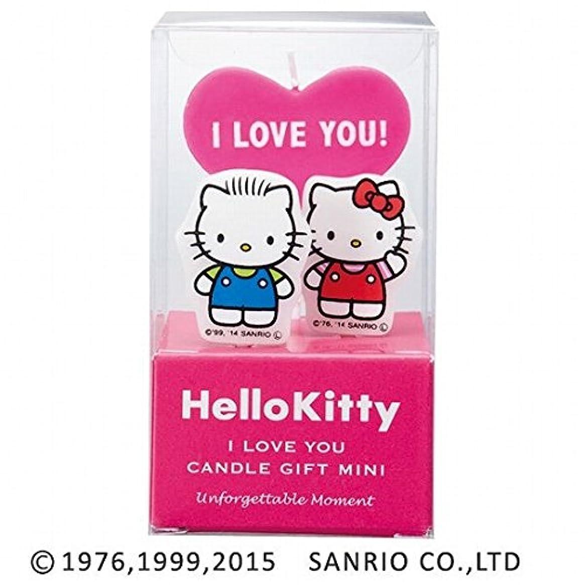 リンク病気の封筒カメヤマキャンドル(kameyama candle) ハローキティキャンドルギフトミニ