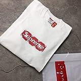 Sup x LOUIS BOX LOGO シュープ X ルイ ボックスロゴ 半袖 Tシャツ