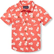 The Children's Place Baby Boys Short Sleeve Button Down