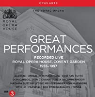 Great Performances: Royal Opera House, Covent Garden, 1955-1997 by Various (2014-09-30)