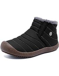 スノーブーツメンズ靴 レディース雪靴 防水 防寒 防滑 履き脱ぎやすい 冬用 裏起毛 撥水加工