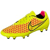 NIKE Magista Orden FG Soccer Cleats (Volt/Gold/Black/Hyper Punch)/サッカースパイク マジスタ  Orden FG (7- 25.0cm)