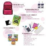 MT-NET 防災グッズセット 女性用 非常用持ち出し袋 1人用 リュックカラー/ピンク