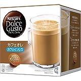 ネスカフェ ドルチェ グスト 専用カプセル カフェオレ カフェインレス 16杯分 3個セット