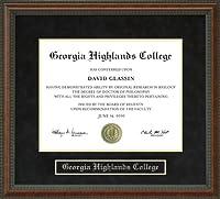 ジョージア大学卒業証書Highlandsフレーム ga-highlands-91-burl