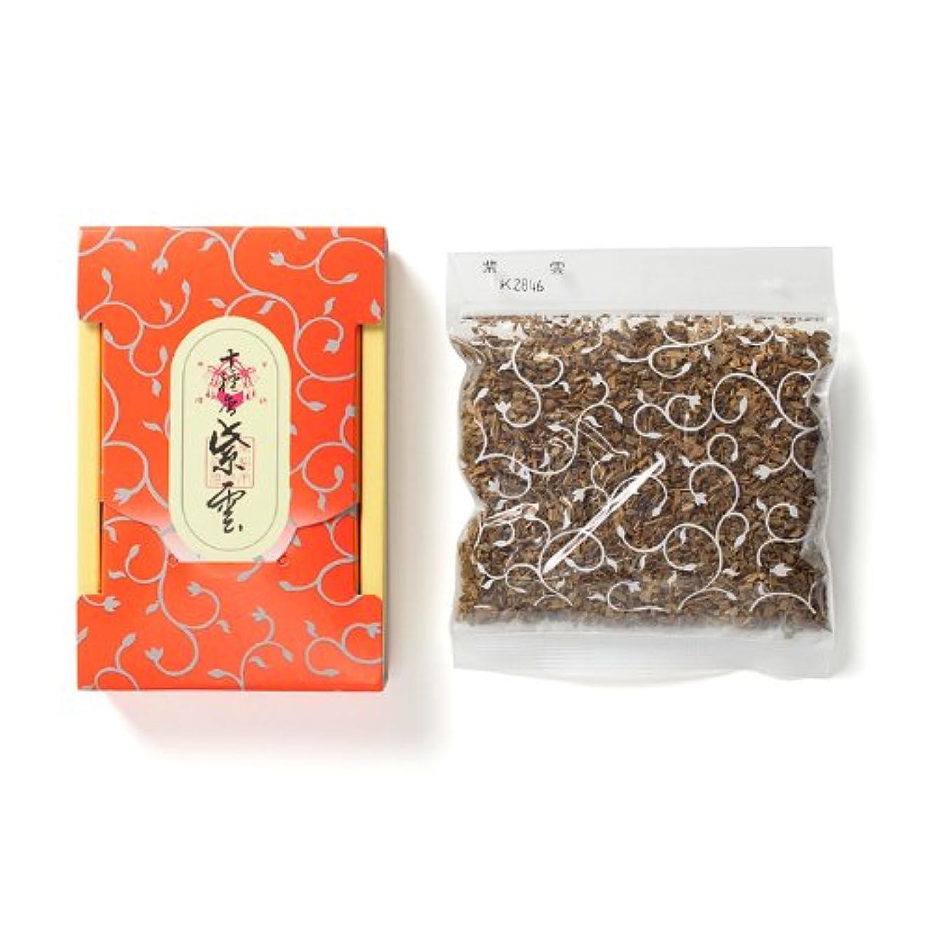 素朴な適合しましたから松栄堂のお焼香 十種香 紫雲 25g詰 小箱入 #410941