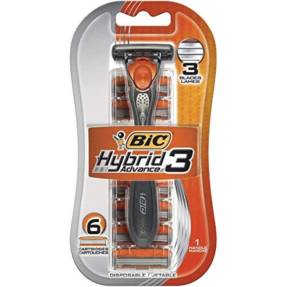 エネルギーいくつかの弾薬BIC 6つのリフィル、5パックとのハイブリッドアドバンス3シェーバー