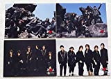 KAT-TUN 集合 フォトセット4枚 6人時 2009 公式写真 亀梨和也上田竜也中丸雄一赤西仁田中聖田口淳之介