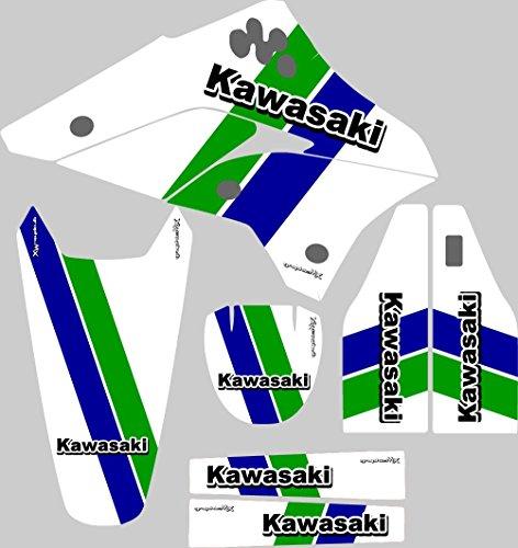 カワサキkx450Fレトログラフィックキット2006–2008