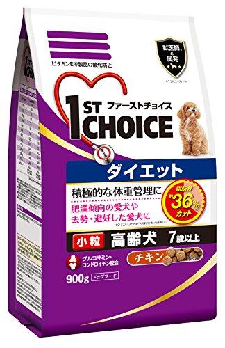 ファーストチョイス ダイエット 高齢犬用 チキン 小粒 900g