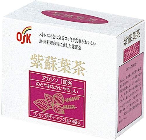 【Pick up!】 OSK 紫蘇葉茶 1g×30袋