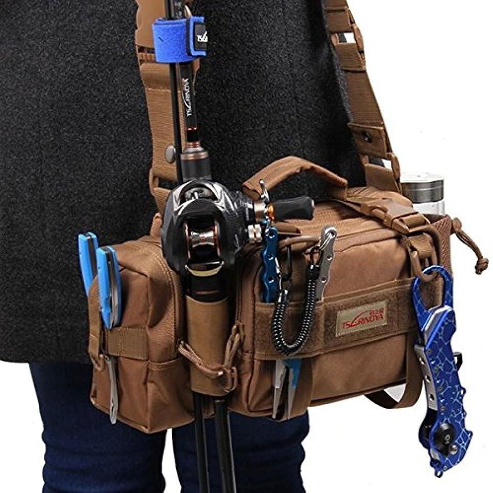 ベーシック敷居幸運なTrulinoya Multipurpose釣りバッグ多機能釣りタックルバッグアウトドアバッグパッケージ – タックルボックス&バッグ