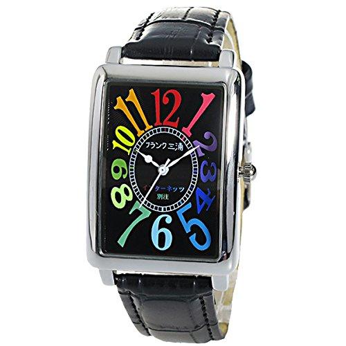 フランク三浦 インターネッツ別注 メンズ 腕時計 FM01IT-CRBK ブラック/ブラック 【ネット限定】