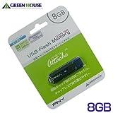 グリーンハウス USBフラッシュメモリ PNY MiniAttache 8GB UFDPMN-8G