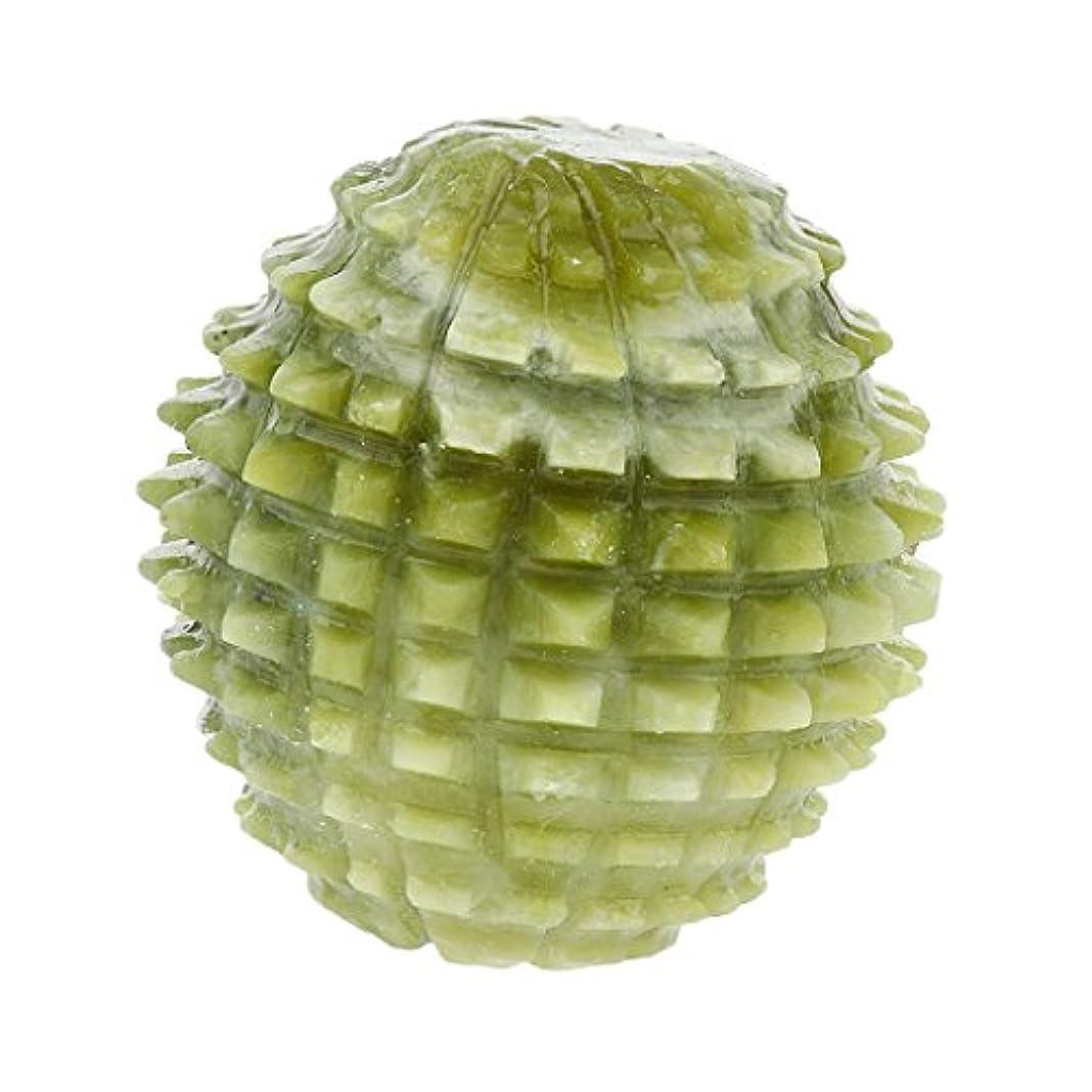 一時的シェア矢印dailymall 天然玉石鍼治療のトリガーポイントマッサージボール手エクササイズツール
