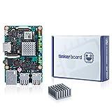 Asus SBC Tinkerボードrk3288Soc 1.8GHz Quad Core CPU , 600MHz mali-t764GPU、2GB