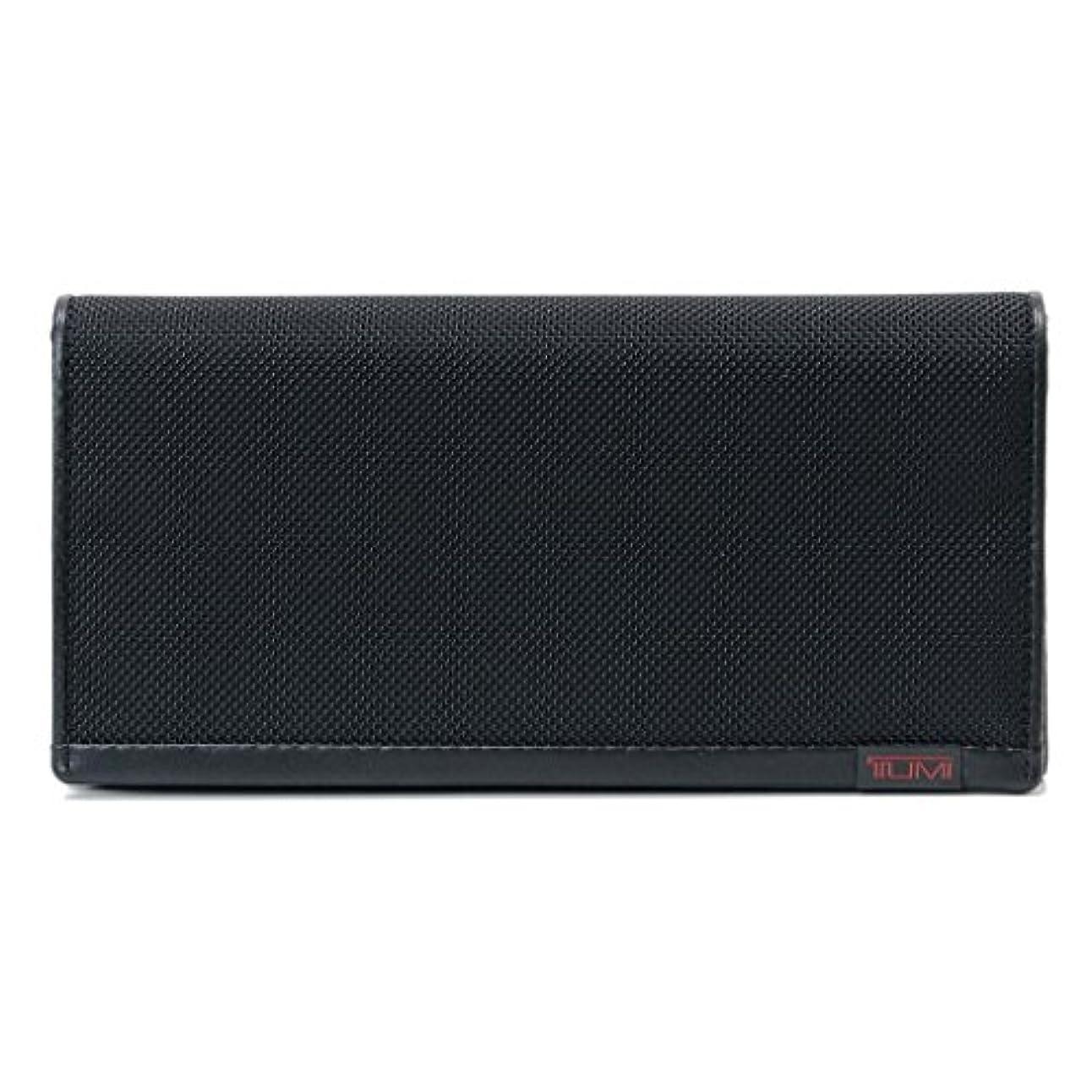 ランデブー八膜(トゥミ)TUMI 19243D/119243 ALPHA Breast Pocket Wallet 長サイフ 長財布 Black ブラック [並行輸入品]