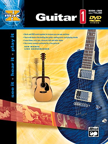 Download Alfred's Max Guitar, Bk 1: See It, Hear It, Play It 0739034685