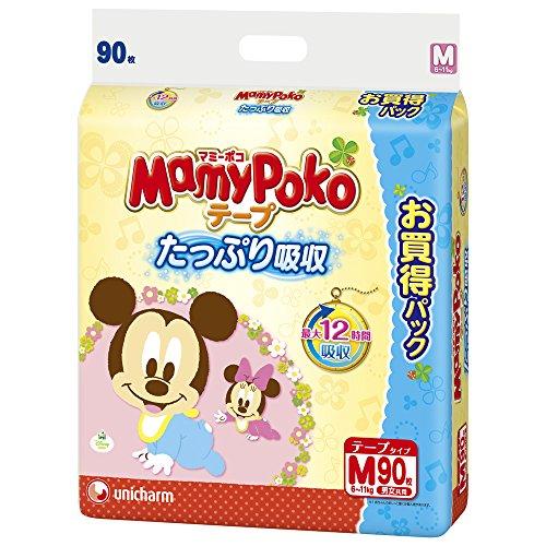 マミーポコ テープ M (6~11kg) 90枚