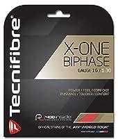 テクニファイバー(Tecnifibre) テニス ガット エックスワン バイフェイズ X-ONE BIPHASE 12m ゲージ1.30mm レッド(RD) TFG902