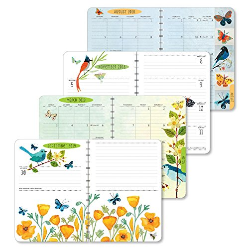 Geninne Zlatkis 2018 - 2019 On-the-go Weekly Planner: 17-month Calendar With Pocket